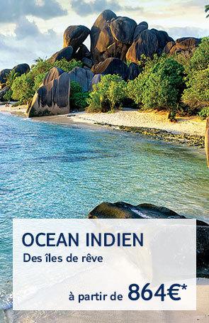 Ocean indien : toutes nos offres