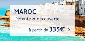 Toutes nos offres Maroc